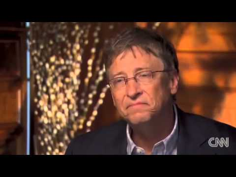 Bill Gates on GM foods, vaccines and Monsanto Nwo Puppet