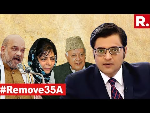 Amit Shah's Policy Spooks Farooq Abdullah & Mehbooba Mufti? | The Debate With Arnab Goswami