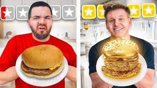 $10 vs $1000 Burger ft GORDON RAMSAY