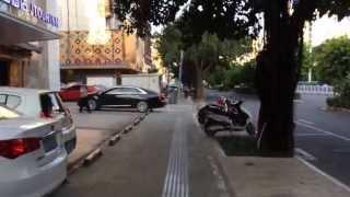 walking in nanning city guangxi province China