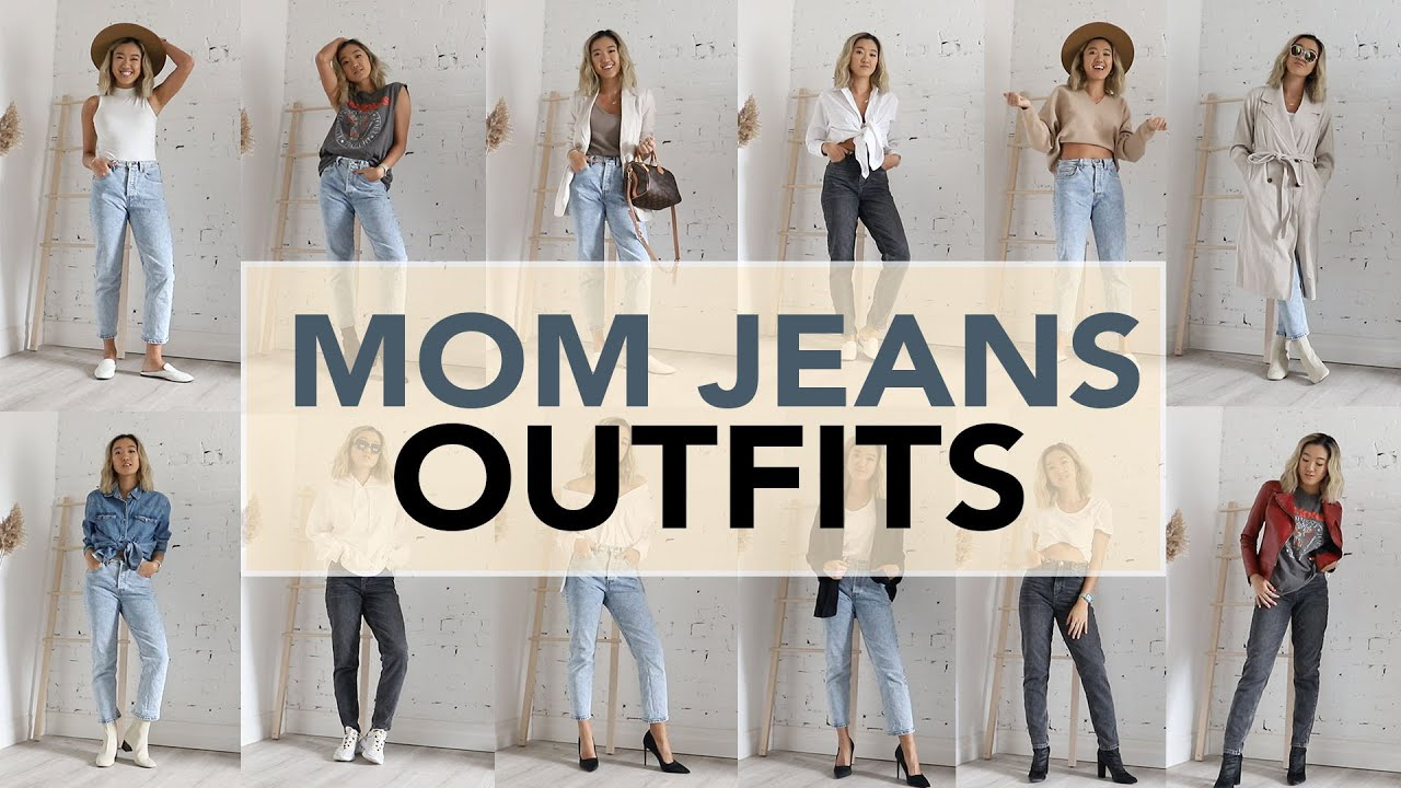 MOM JEANS: Outfit Ideas + How To Style