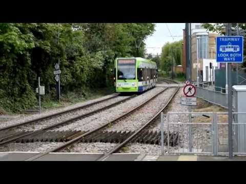 London Tramlink Trams@Merton Park