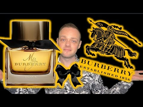 """Burberry """"My Burberry Black""""  EDP Fragrance Review"""