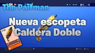 🤔NEW DOUBLE CALDERA SHOTGUN🤔 [Fortnite Save the World] (Guide and Test BattleField)