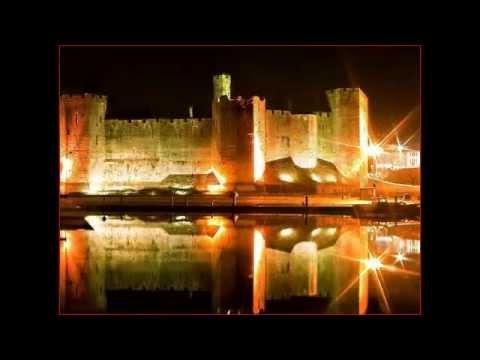 Caernarfon Castle in Caernarfon,