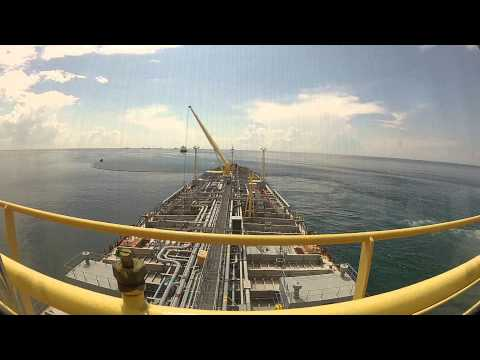 SBM tanker mooring operation