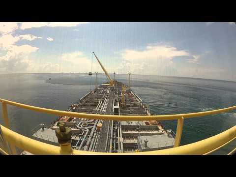 SBM tanker mooring operation