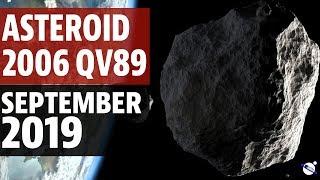 Asteroid 2006 QV89 - September 2019