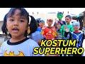 Parodi Lucu!!!Little Princess Rara & SUPERHERO beraksi [] Baju Baru Superhero part 2[] Mainan Anak
