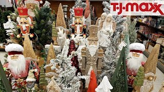 TJ MAXX CHRISTMAS SHOPPING IDEAS DECOR WALK THROUGH 2018