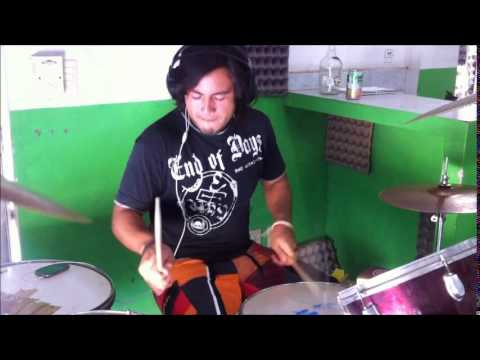 Faces Imploding- Drum Cover- Rings Of Saturn