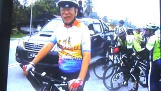 IPD Hilir Perak Police Cycle Ride - Hutan Melintang -April 2014