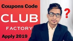Club factory coupon codes 2019// How to use coupon