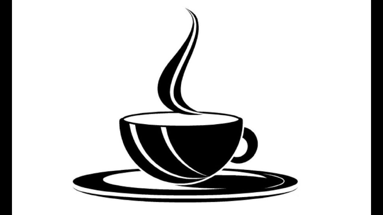 Кофе картинки контуры