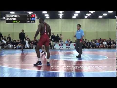 160 f Joe Smith Oklahoma vs Isaiah White Illinois