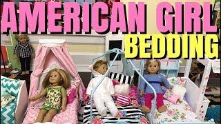 Video HUGE American Girl Doll Bedding Haul download MP3, 3GP, MP4, WEBM, AVI, FLV Juni 2017