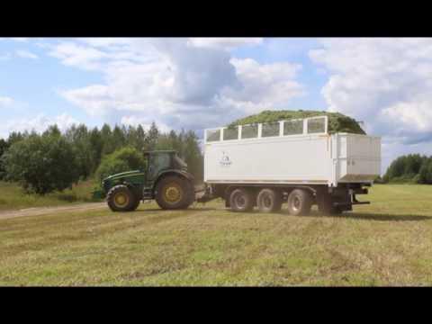 Прицеп тракторный Тонар ПТ-3