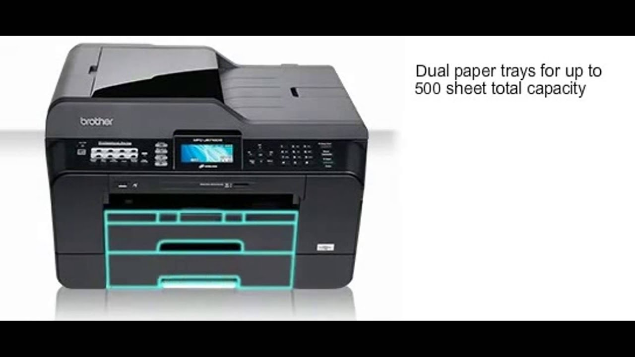 Brother Mfc J6710dw A4 A3 Multifunction Inkjet Printer