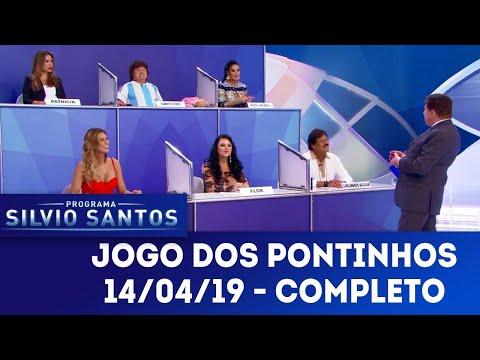 Jogo dos Pontinhos - Completo | Programa Silvio Santos (14/04/19)