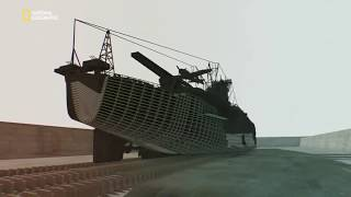 Суперсооружения третьего рейха. Мега корабли Тихого океана