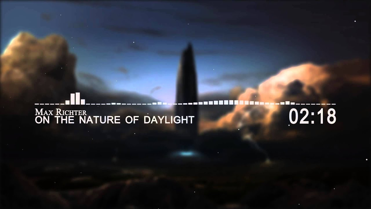 Max Richter - On the Nature of Daylight - YouTube