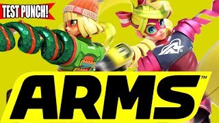 GLOBAL TEST PUNCH - I got Arms early! thumbnail