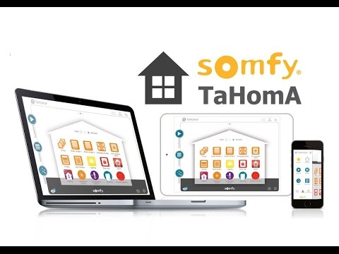 Somfy TaHomA | iO Homecontrol | Alutec.sk - YouTube