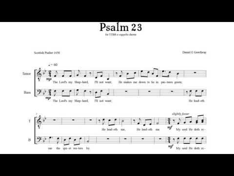 Psalm 23 (TTBB)
