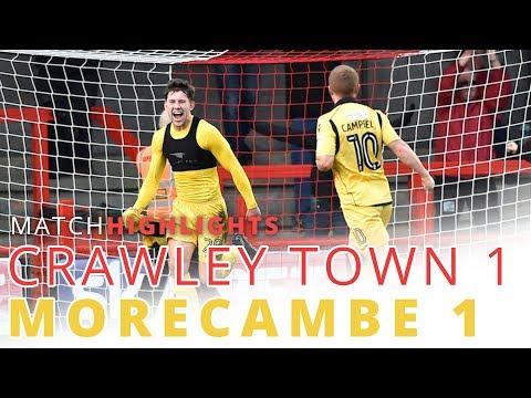 HIGHLIGHTS | Crawley Town v Morecambe