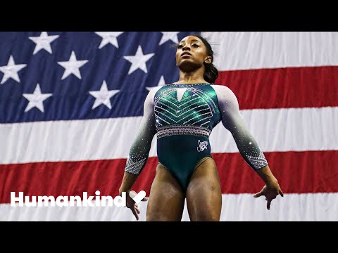 Simone Biles adoption shows the strength of family | Winning Teams | Humankind
