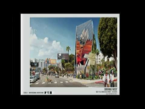 """Sunset Strip Pilot Creative Off-Site Advertising Sign"" Project Finalists Public Presentations"