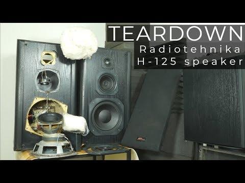 Look Inside Radiotehnika H-125 (S-50B) Speaker - What's Inside?