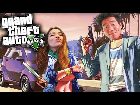 GTA V W/ MY GIRL CAUSE WHY NOT