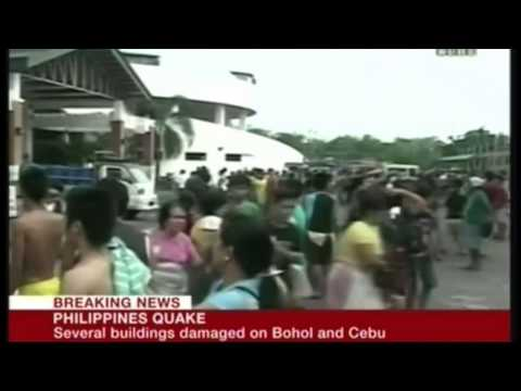 Earthquake : A powerful 7.1 EQ rocks the Island of Bohol in the Philippine Islands (Oct 15, 2013)
