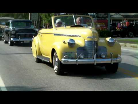 Stowe Vermont Antique Car Show 2017 Whole Parade Saturday