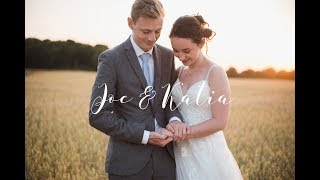 Joe & Katia Rustic Rural Wedding Highlights