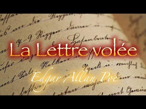 Livre audio : La Lettre Volée, Edgar Allan Poe