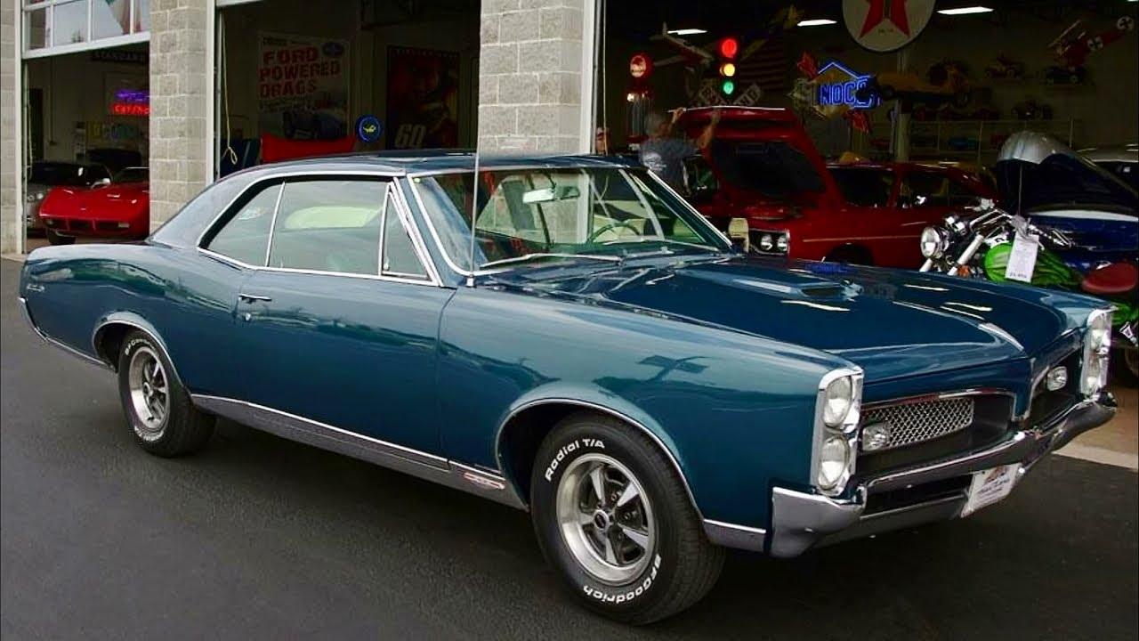 1967 Pontiac GTO  Rare Optioned 400 V8  YouTube