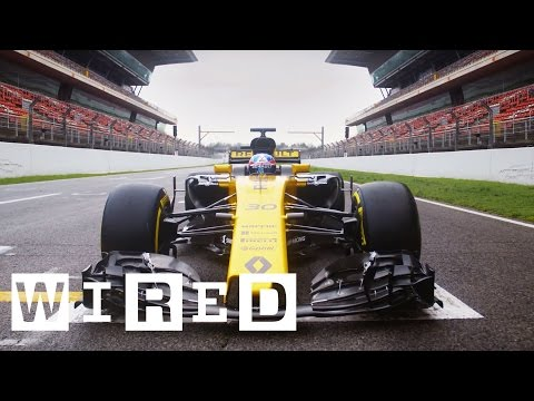 F1 2017: Behind the Scenes with Renault Sport Formula One Team & Microsoft Cloud | WIRED