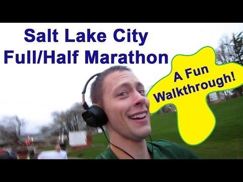 Salt Lake City Half/Full Marathon - A Fun Walkthrough