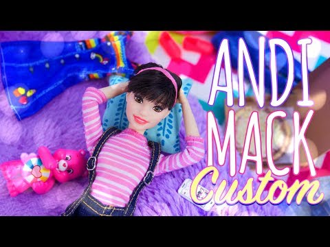 DIY - How To Make: Andi Mack Custom Doll | Hair | New Body | Fashion
