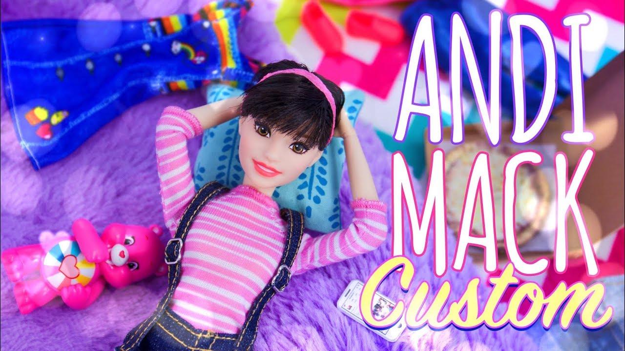 DIY - How to Make: Andi Mack Custom Doll   Hair   New Body   Fashion