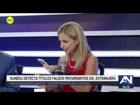Acciones de SUNEDU por grados falsos, propuestas de reforma política y Foro Bicentenario   ADN
