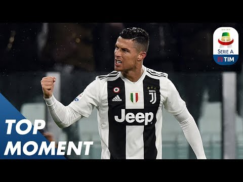 Ronaldo Scores to Break The Deadlock for Juve | Juventus 3-3 Parma | Top Moment | Serie A