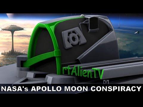 NASA's APOLLO MOON COVER UP. UFO's & Bases With Dr Ken Johnston. ArtAlienTV