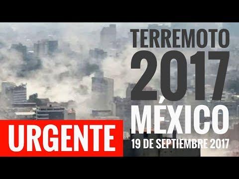 URGENTE I NUEVO TERREMOTO en MÉXICO; Magnitud 7.1 entre Morelos y Puebla epicentro.