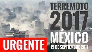 URGENTE I NUEVO TERREMOTO en MÉXICO; Magnitud 7.1 entre Morelos y Puebla epicentro. #TodosSomosMx