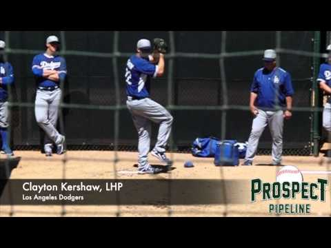 Clayton Kershaw, LHP, Los Angeles Dodgers, Pitching Mechanics at 200 fps
