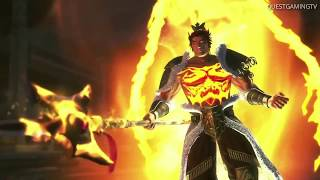 Warriors Orochi 4 Lu Bu VS Tadakatsu Honda Story Mode Cutscene HD  [JP] 【無双OROCHI3】