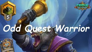 Hearthstone: Odd Quest Warrior #2: Rastakhan's Rumble - Standard Constructed Post-Nerf